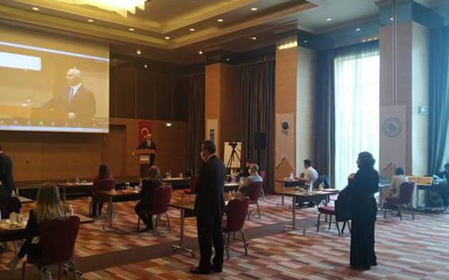 Denizel İstilacı Yabancı Türlerle (İYT) Mücadele için Teşvik Mekanizmaları Değerlendirme Toplantısı 08 Haziran 2021 tarihinde Ankara'da gerçekleştirildi